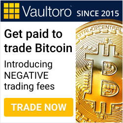 Vaultoro.com is the best negative fee trading platform