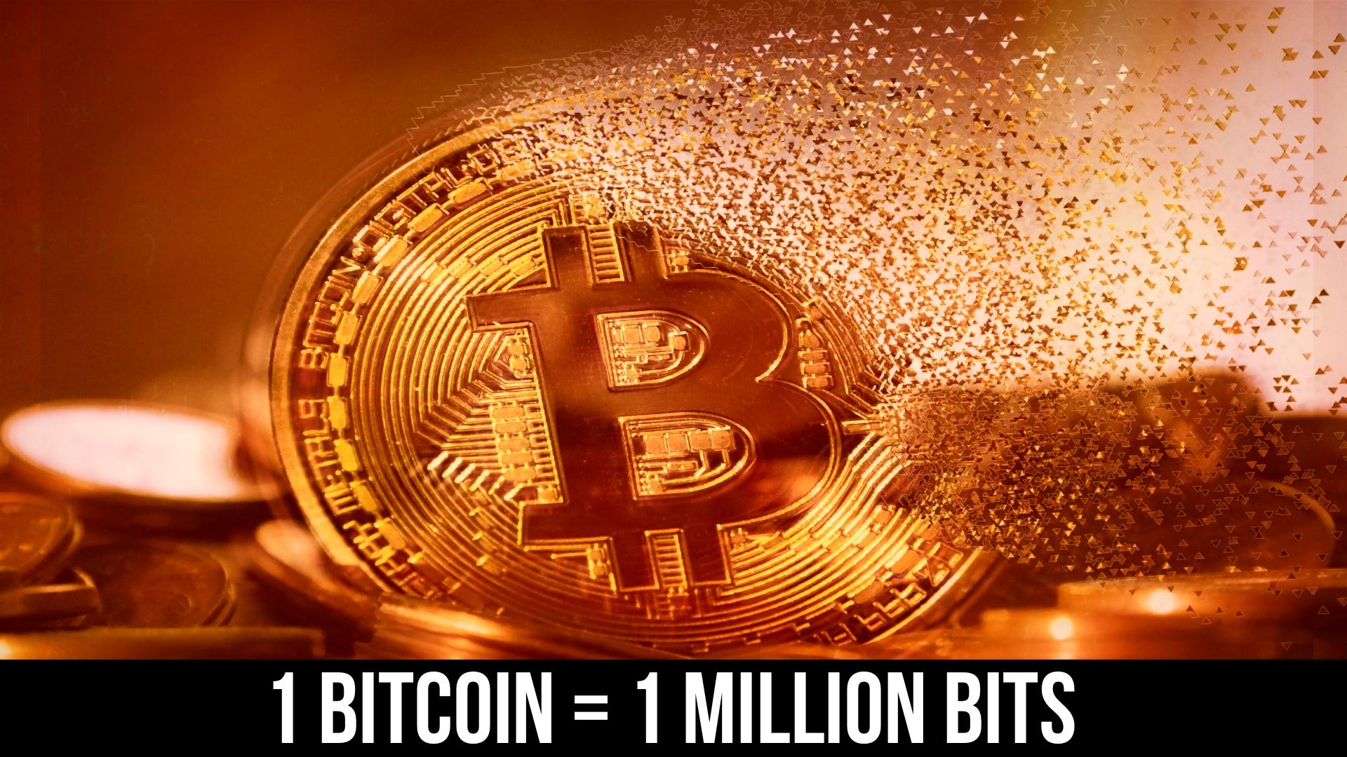 1 bitcoin in bit)